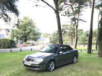 2004 Saab 9-3 2.0 Turbo Vector Sport 2 Door Convertible Grey