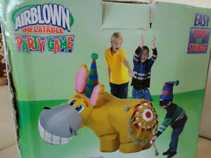 For Rent -4' Airblown Inflatable Pin The Tail On The Donkey Game Kitchener / Waterloo Kitchener Area image 7