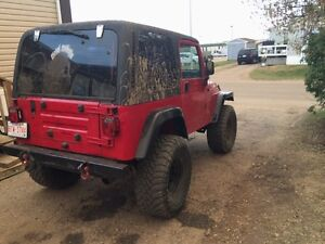 2000 jeep tj trade for something of interest