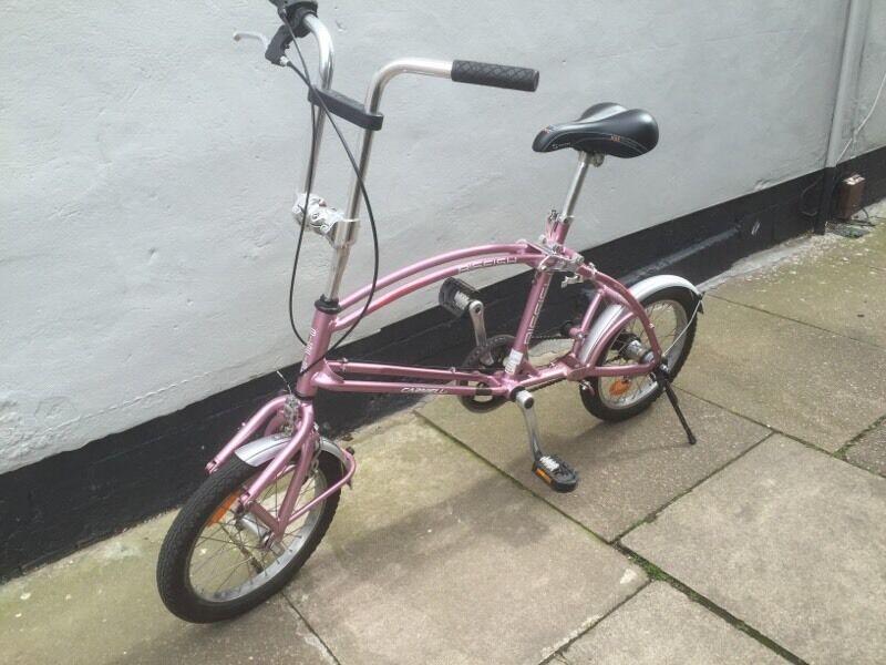 Carnielli Bigfish Folding Purple Bike In Leicester