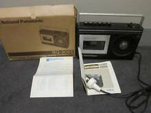 National Panasonic Portable Cassette Tape Recorder RQ-306S Works! Sydney City Inner Sydney Preview
