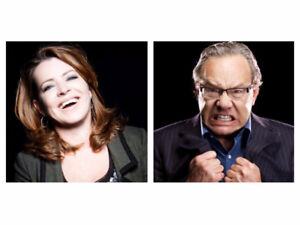 Tickets for Lewis Black & Kathleen Madigan show.
