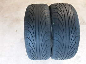"2 x Kenda Kaiser part worn 18"" tyres"