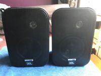 JBL twin speakers
