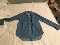 Xsmall jean shirt bought from old navy