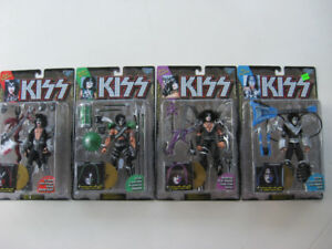 KISS Figures Sets McFarlane 1997 Gold Record