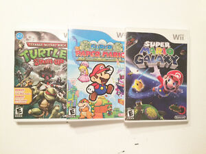 3 great games for Wii