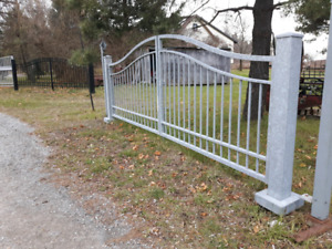 Galvanized Gate