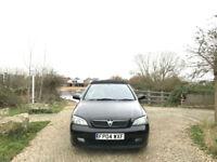 2004 Vauxhall Astra 1.6i 16v Bertone 2 Door Convertible Black