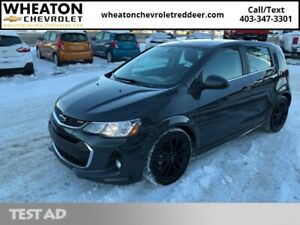2018 Chevrolet Sonic Premier Hatch  Sunroof, Leather, Heated Sea
