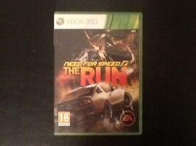 Xbox need for speed the run
