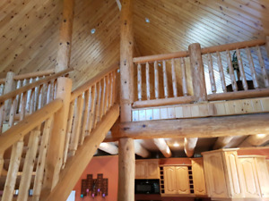 Log cabin , Special memory this year !beach time up to 10 people