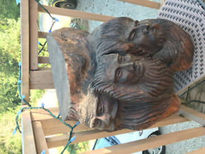 Original Wood Carving by Canadian Artist Don Colp