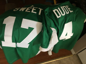"""#4 """" Dude"""" and #17 """" sweet"""" xl and xxl new rider jerzees!"""