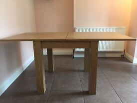 Next square to rectangle dining table