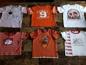 Grand choix 12 à 24 mois  vêtements garçons