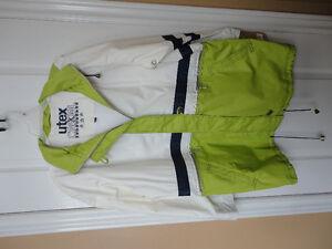 Utex women's white/green spring jacket Size Large NWT London Ontario image 1