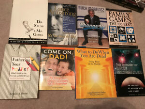 Books $2 each or $10 for all