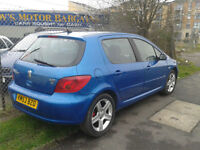 2003 Peugeot 307 DIESEL... ( NOW £499 ono TO CLEAR )