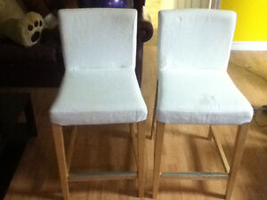 Ensemble de 2 chaises d'ilôt