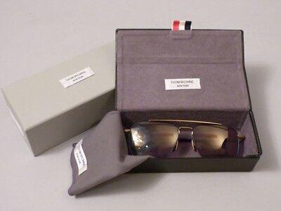 THOM BROWNE Sonnenbrille TB 103 C NVI GLD 58  sunglasses   Größe 58