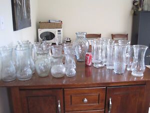 various glass vases - great for any occasion/ wedding $5 each Kitchener / Waterloo Kitchener Area image 9