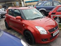 Suzuki Swift 1.5 GLX 5 DOOR - 2008 58-REG - 11 MONTHS MOT