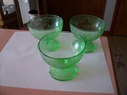 Florentine 1 green sherbets (3)