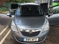Fantastic offer!!!! Vauxhall Meriva 1.4 Turbo exclusive!! Best deal going !!!
