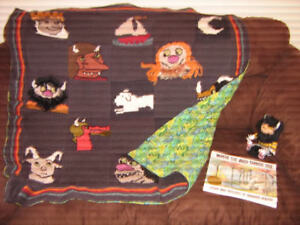 Handmade quilt for child's bed