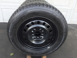 Rims DODGE GRAND CARAVAN + Pneus Hiver WINTERCLAW 225-65-17