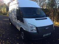Ford Transit 2.2TDCi ( 100PS ) ( EURO 5 ) ( RWD ) 350 LWB High Roof Van.1 Owner.