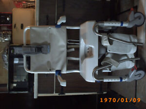 Aquatech Commode /  Shower chair