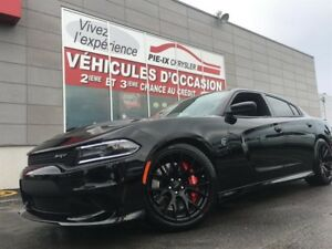 Dodge Charger HELLCAT+707HP+CUIRE+TOIT+GPS+WOW 2016
