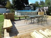 End of season blow out deck sale limited offer 10x10 only $800