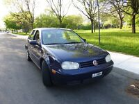 2004 Volkswagen Golf Bleu 2.0L Berline