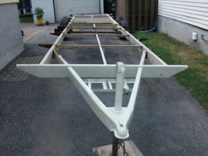 RV TRAILER FRAME