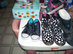 kids used boots and shoes