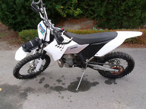 2008 KTM 300 XCW with Rekluse