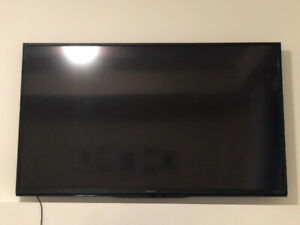 Moving Sale - TV Console (Structube), TV, Couch (Mobilia), Bench