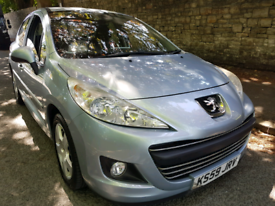 image for Peugeot 207 1.6,only 80k,HDI,2010 Blue 5-dr 10 M MOT TAX £30/Yr £1250