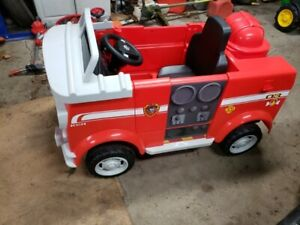 Paw Patrol Marshall Fire Truck 6v ride on, brand new