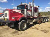 2004 KENWORTH C500B TRI DRIVE 50ton WINCH TRUCK REMAN 650hp CAT