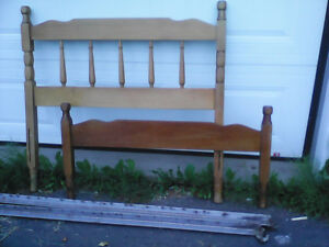 Single Headboard and Rails