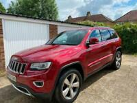 63 Plate Jeep Grand Cherokee Limited 69K Miles Full Main Dealer Services 7 Stamp