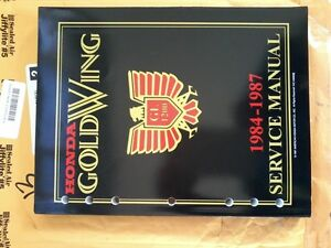 Factory service manual 1984 - 1987 GoldWing GL1200 - NEW