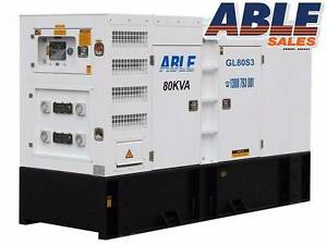 Diesel Generator 80 kVA 415V MINE SPEC - BRAND NEW - WARRANTY Coolaroo Hume Area Preview
