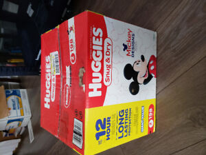 Huggies Diapers sz 2.