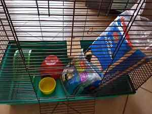 Hamster or small rodent cage