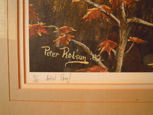 Peter Robson, Sparta, Elgin Co., Artist Prf., Forgotten Dreams London Ontario image 3